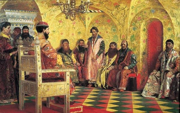 царь и бояре